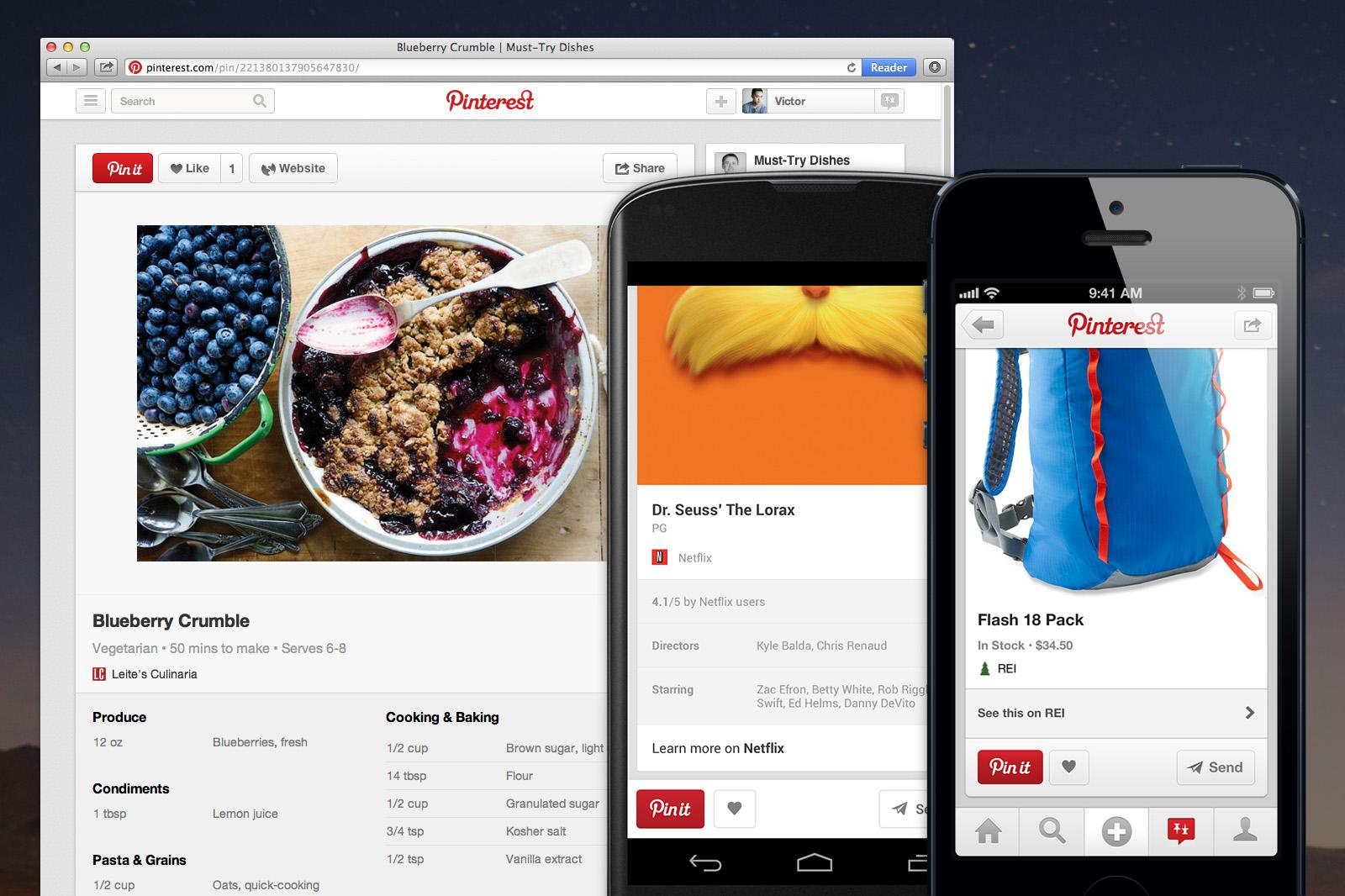 Pinterest 2.4.2 for iOS (teaser 001)