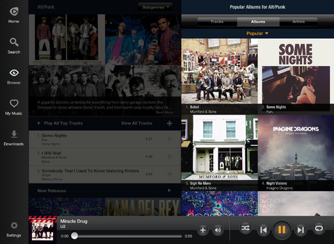 Rhapsody 3.4 for iOS (iPad screenshot 003)