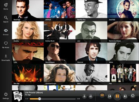 Rhapsody 3.4 for iOS (iPad screenshot 004)