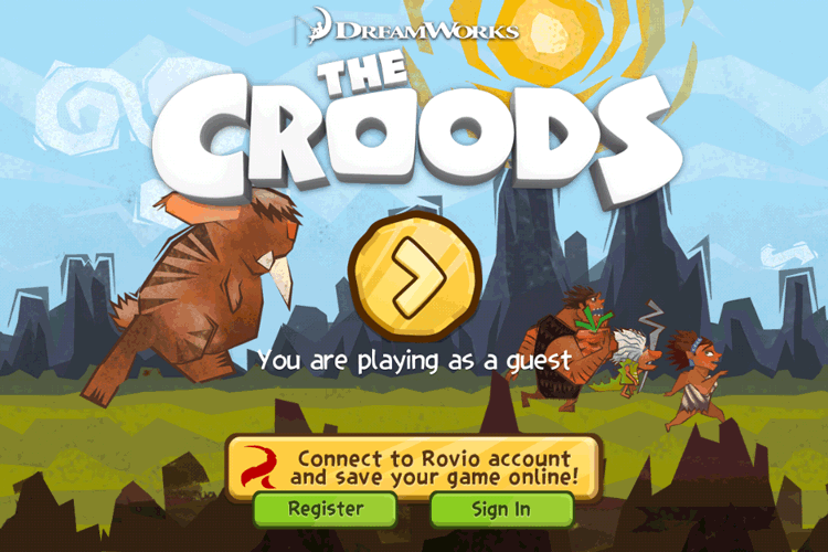 Rovio Account (The Croods)