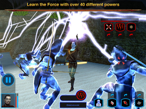 Star Wars - Knights of the Old Republic for iOS (iPad screenshot 002)