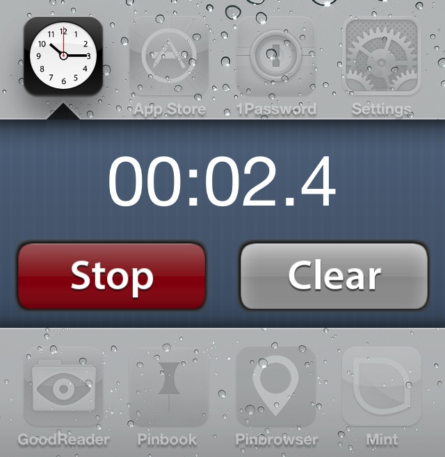 This new Velox add-on lends a stopwatch to your Home screen
