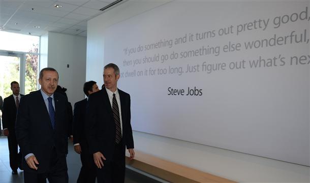 Turkish PM visits Apple