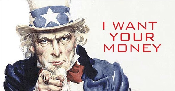 Uncle Sam (I want your money)