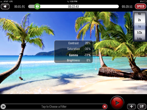 Video Filters 1.0 for iOS (iPad screenshot 001)
