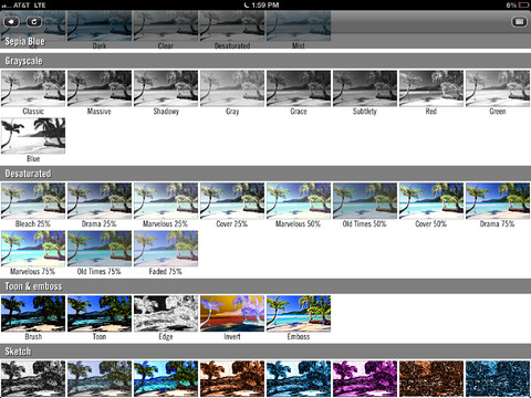 Video Filters 1.0 for iOS (iPad screenshot 004)