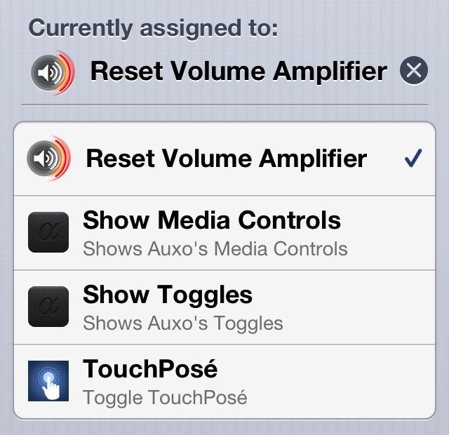 Volume AMplifier Activator