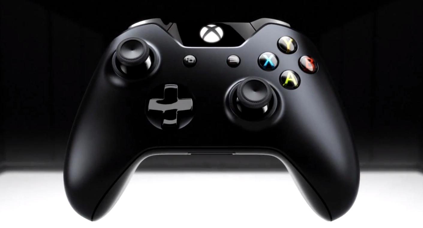 Xbox One controller (teaser 001)