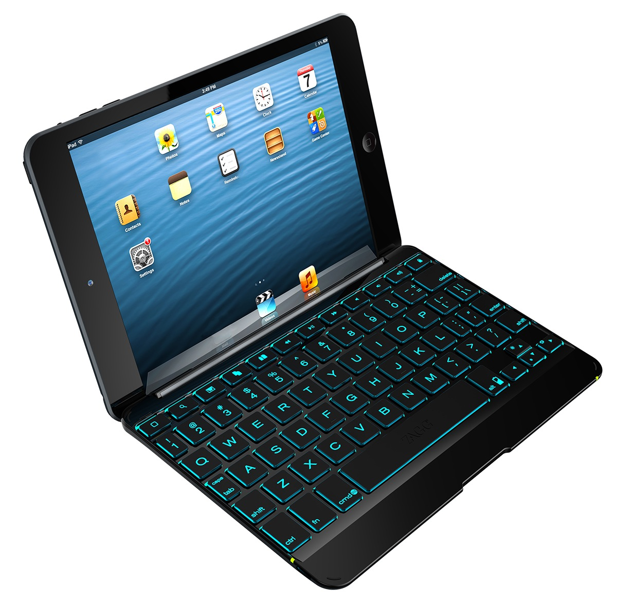 zagg launches backlit cover and folio ipad mini keyboards. Black Bedroom Furniture Sets. Home Design Ideas