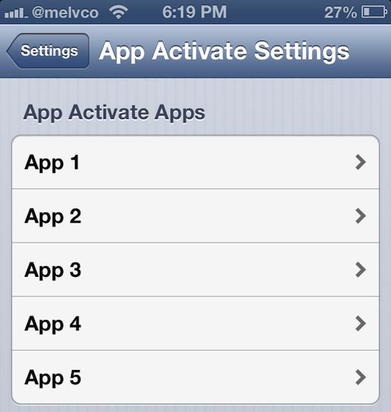 app activator
