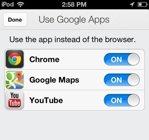 gmail choices
