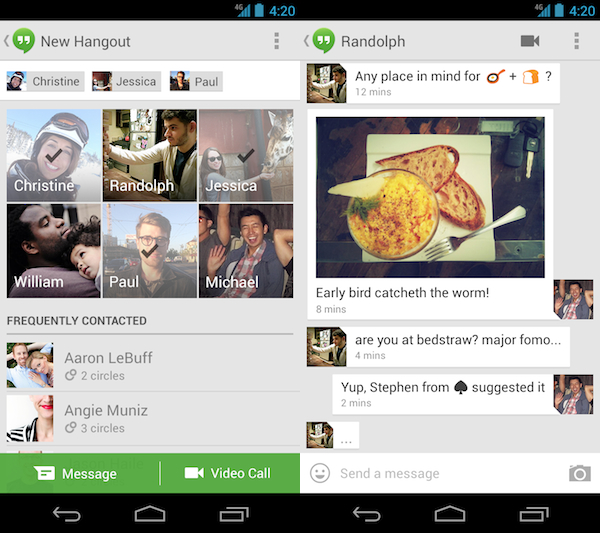 hangouts android ss