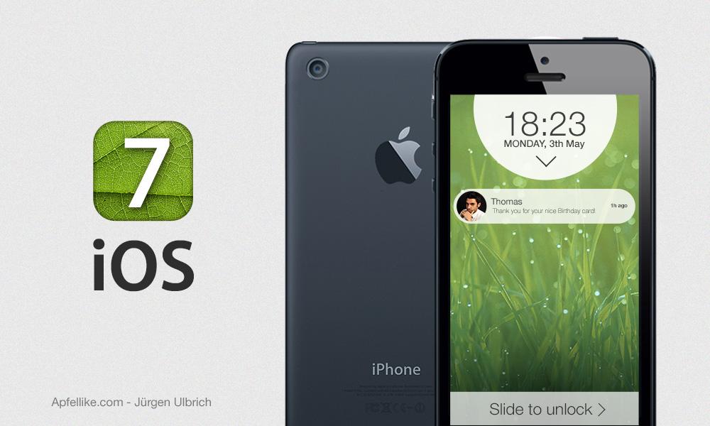 iOS 7 concept (Jurgen Ulbrich 001)
