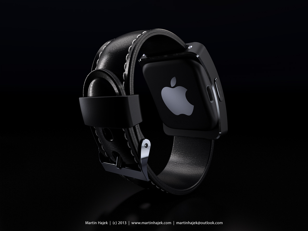 iWatch cocept (Martin Hajek, MacUser April 2013 issue 010)