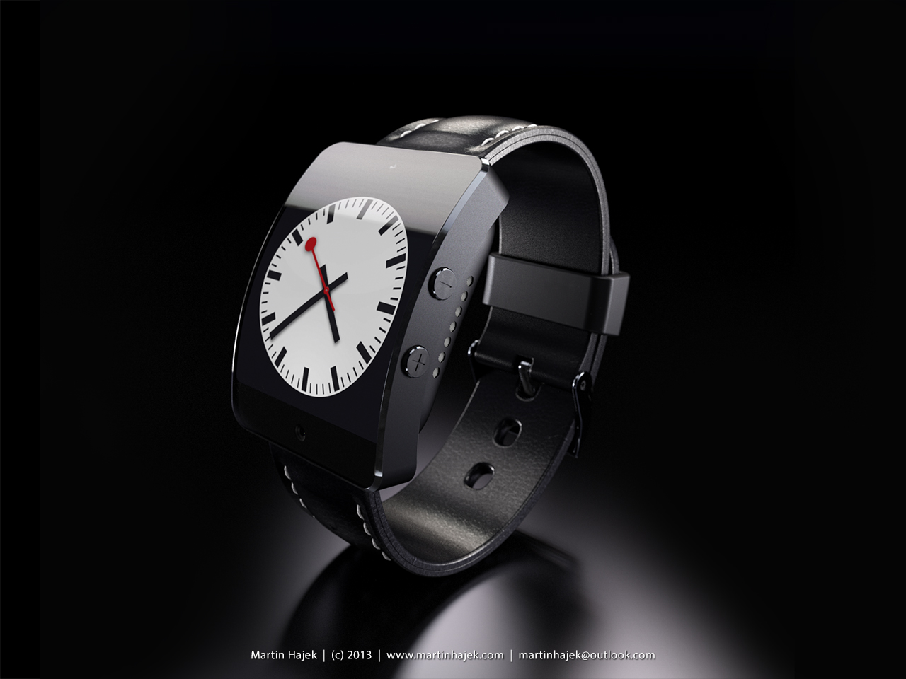 iWatch cocept (Martin Hajek, MacUser April 2013 issue 011)