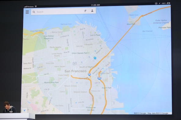 ipad google maps