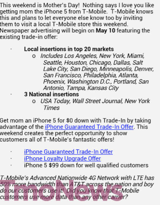 tmo news trade in promo