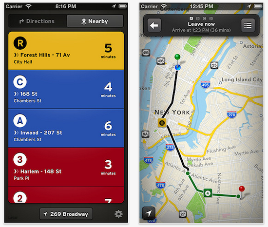 Popular transit app goes free with major 2 0 update