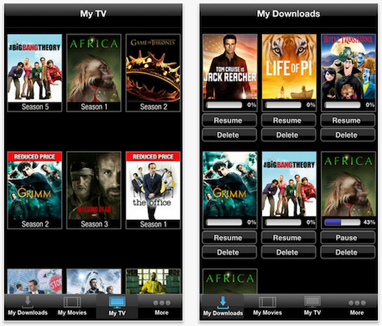 vudu ios app updated with ability to download movies for