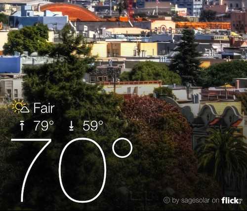 yahoo weather ss