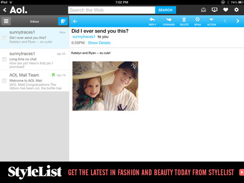 AOL for iOS (iPad screenshot 005)