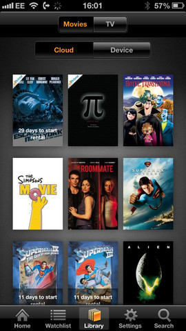 Amazon Instant Video 1.4.3 for iOS (iPhone 5 screenshot 004)