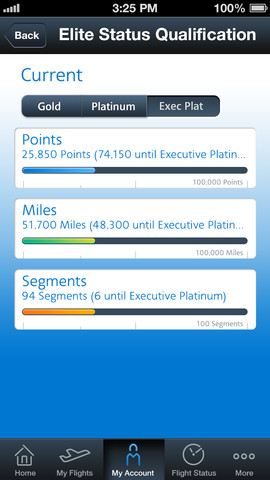 American Airlines 2.4 for iOS (iPhone screenshot 003)