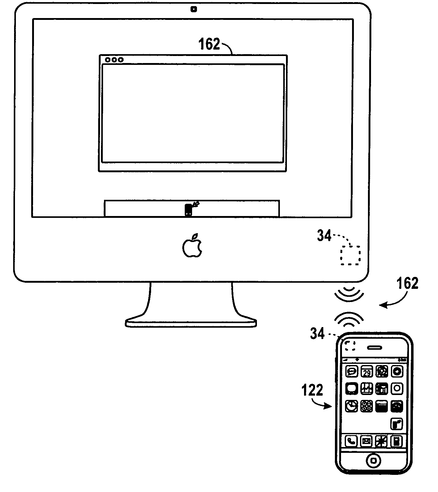 Apple patent (AirDrop transfers 001)