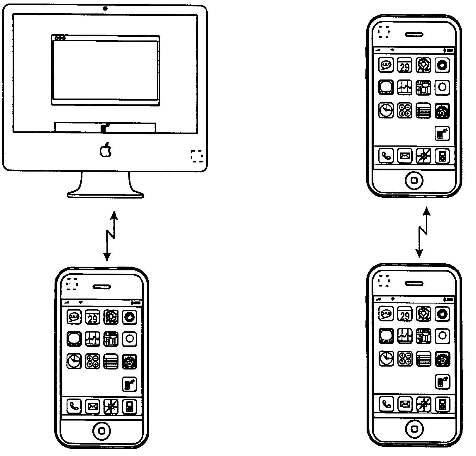 Apple patent (AirDrop transfers 002)