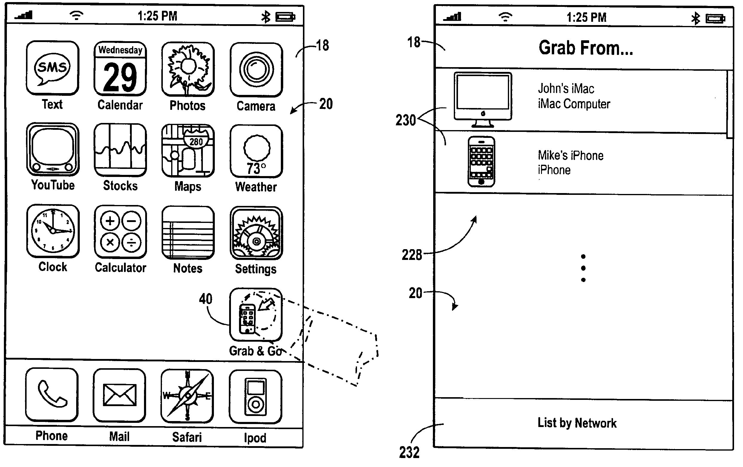 Apple patent (AirDrop transfers 003)