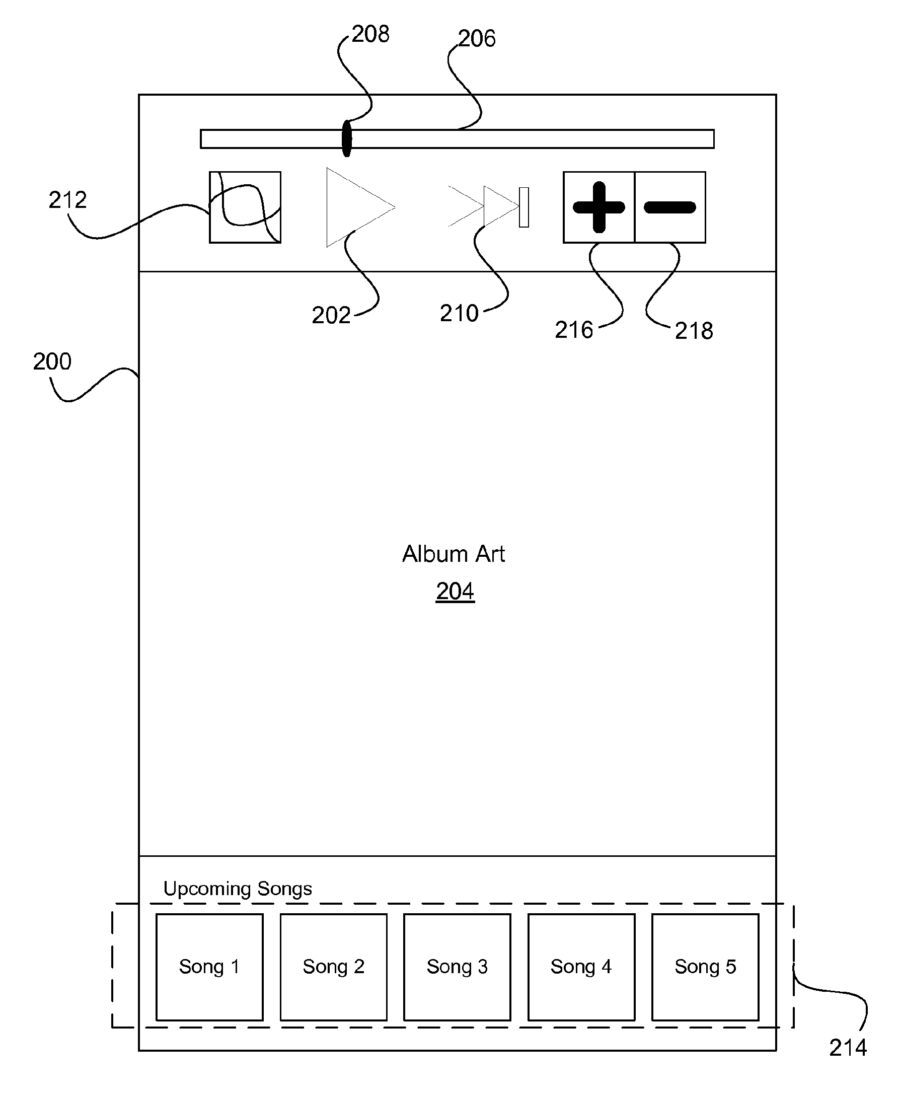Apple patent (personalized iTunes Radio, drawing 002)