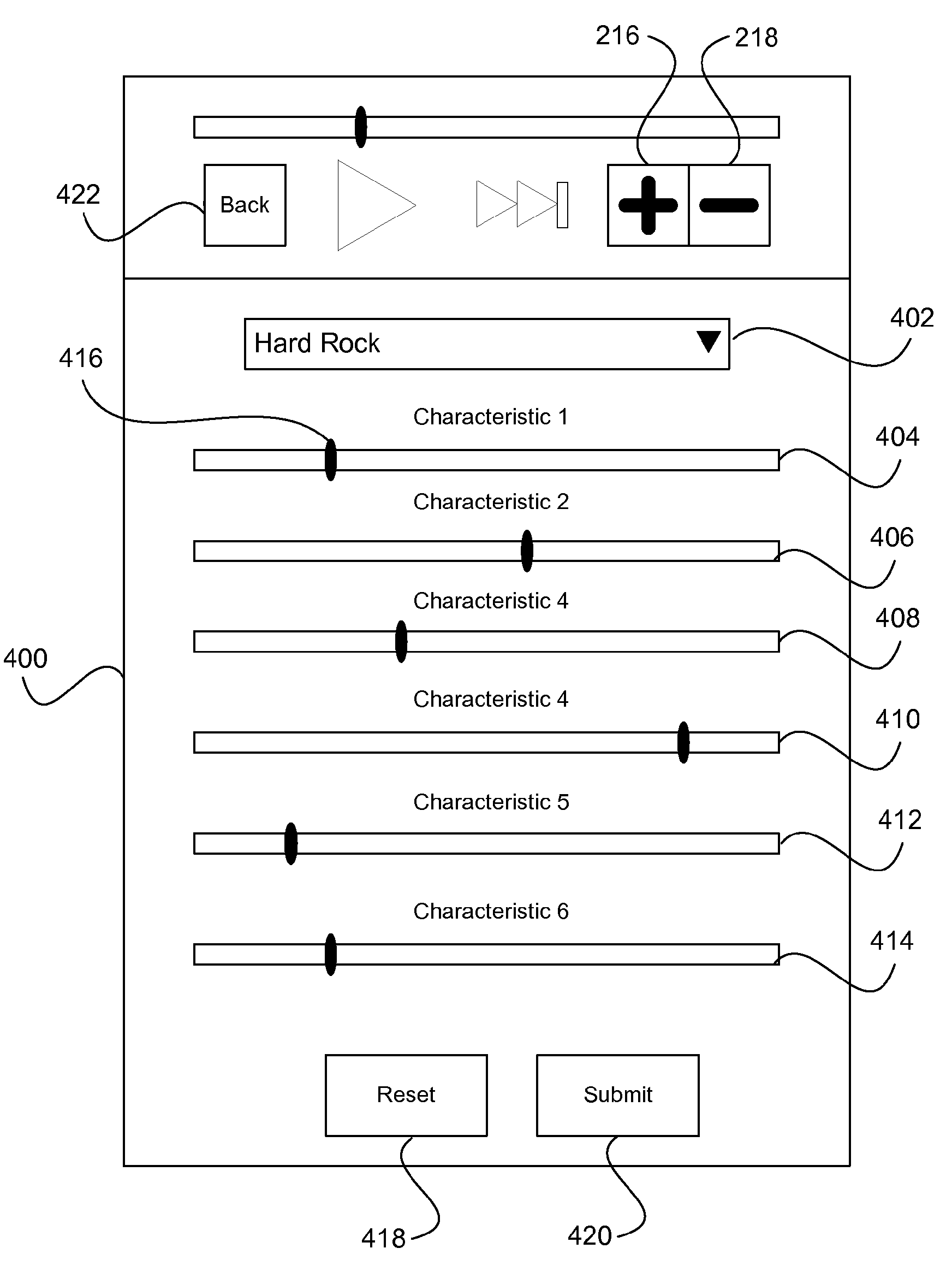 Apple patent (personalized iTunes Radio, drawing 004)