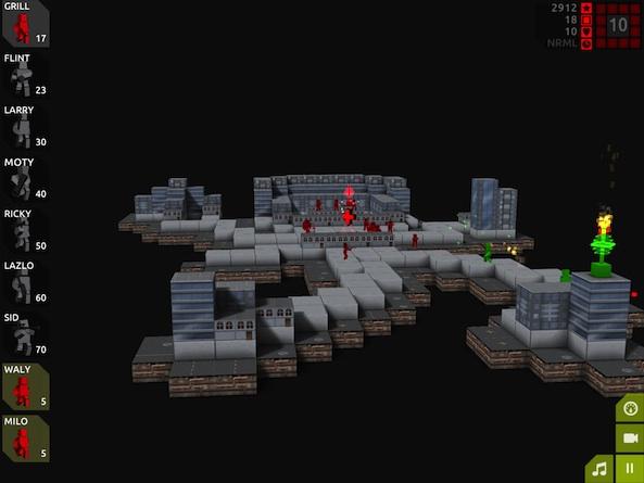 Cubemen2 will put you on a path of destruction