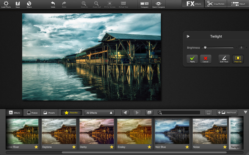 FX Photo Studio Pro (Mac screenshot 002)