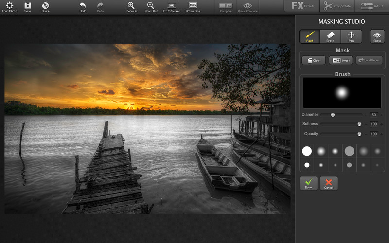 FX Photo Studio Pro (Mac screenshot 004)