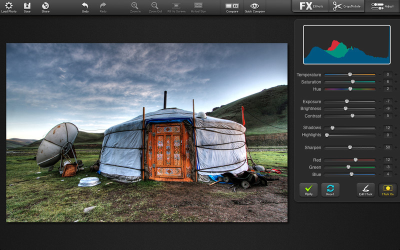 FX Photo Studio Pro (Mac screenshot 005)