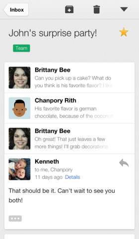 Gmail 2.3.14159 for iOS (iPhone screenshot 001)