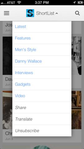 Google Currents 2.1 for iOS (iPhone screenshot 001)