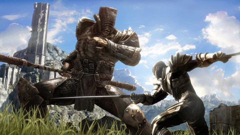 Infinity Blade II for iOS (iPhone screenshot 001)
