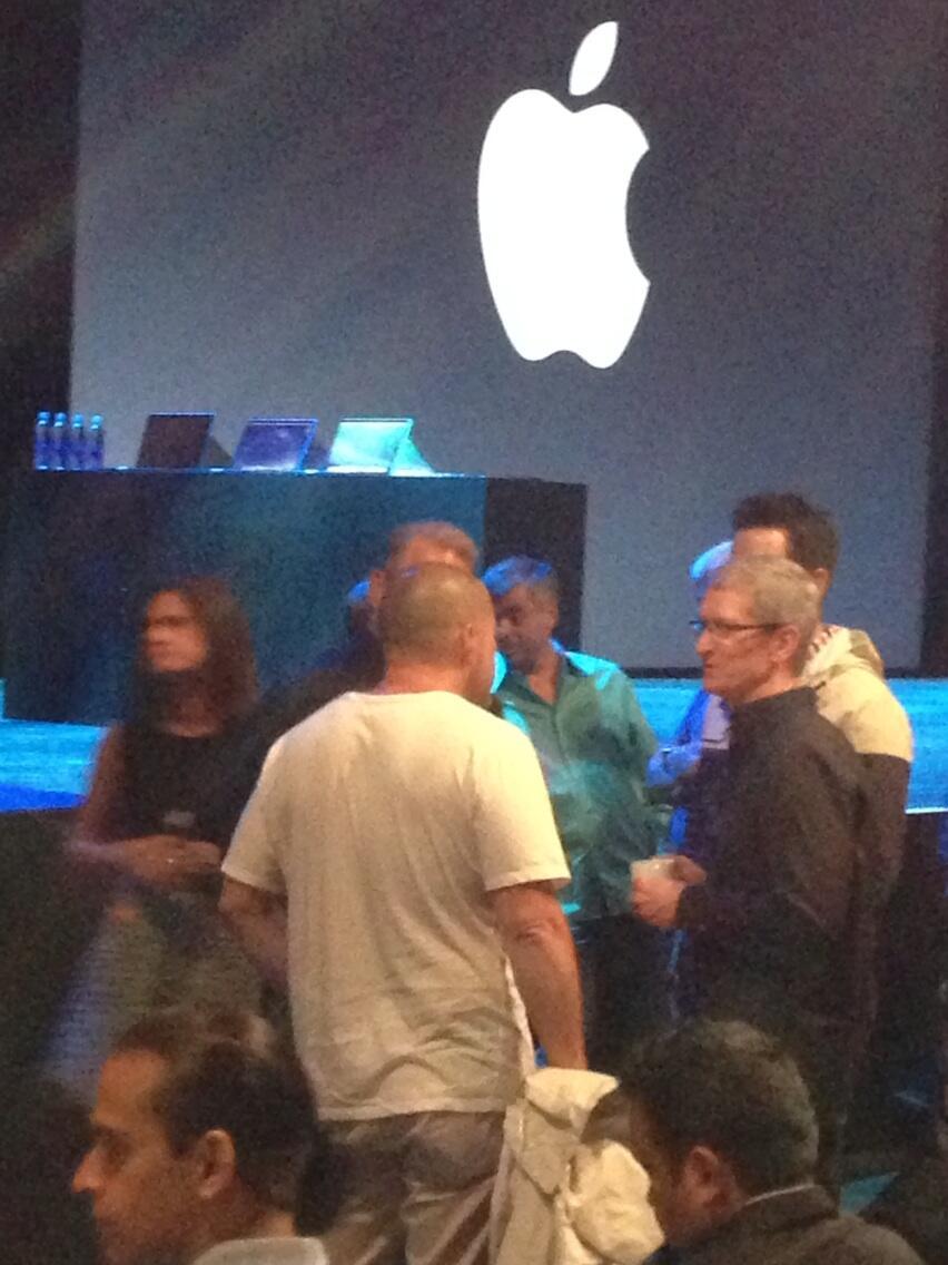 Jony Ive at WWDC 2013