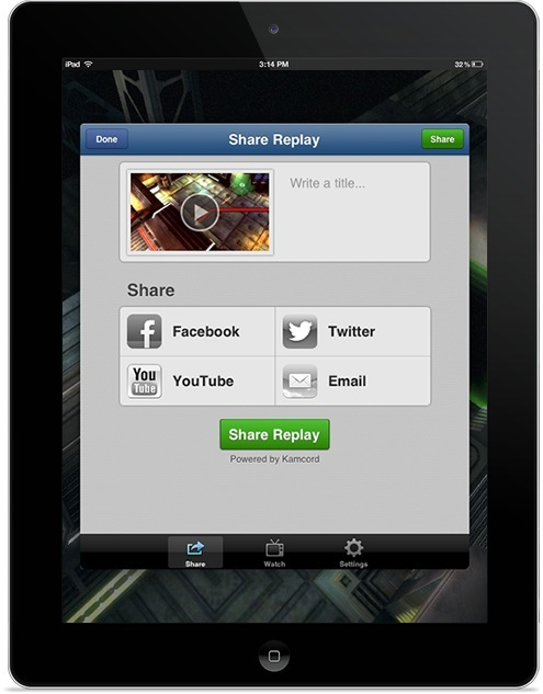 Kamcord (iPad teaser 001)