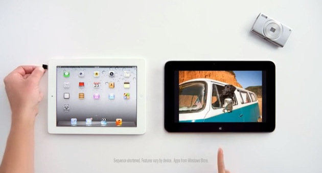 Microsoft vs iPad