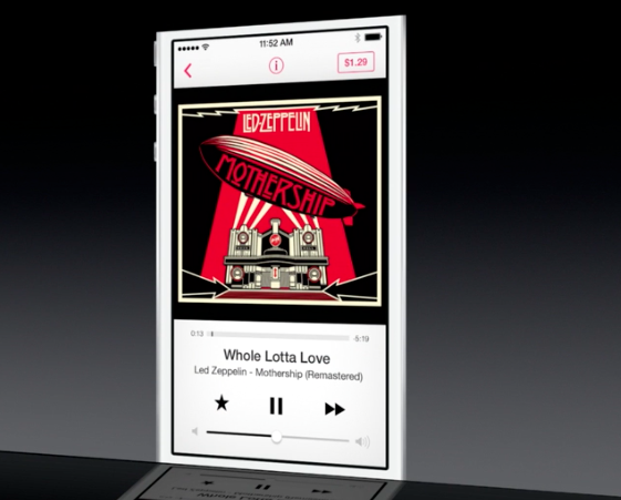 Music app iOS 7 01
