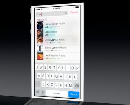 Music app iOS 7 02