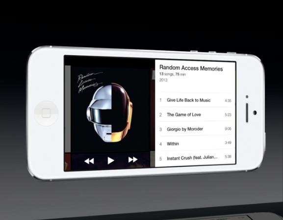 Music app landscape