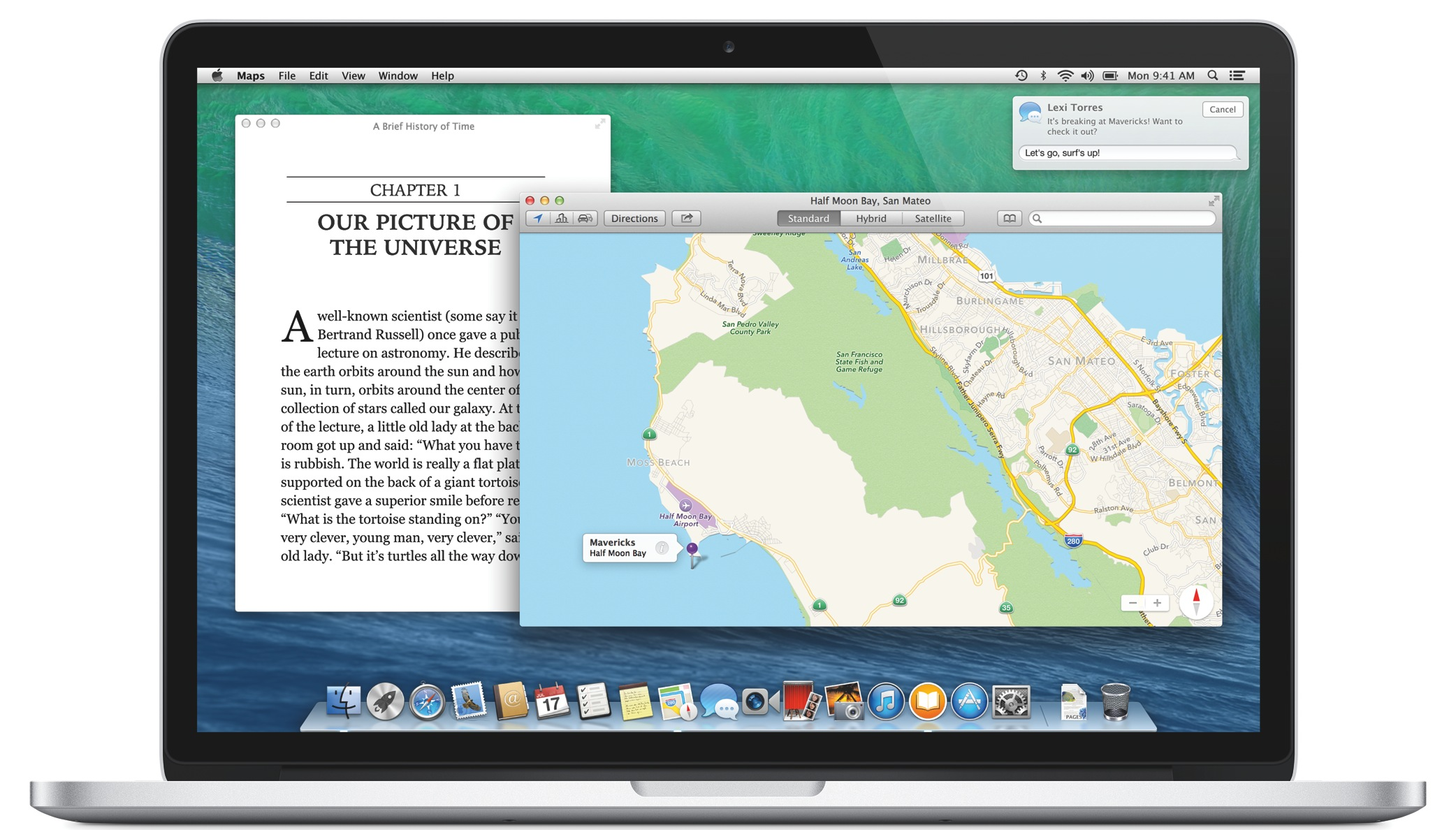 OS X Mavericks (Features, MacBook)