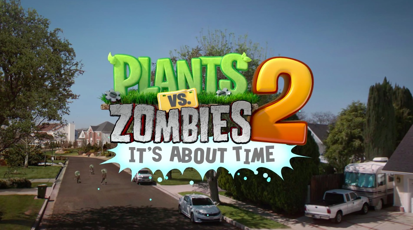 Plants vss Zombies 2 (teaser 001)