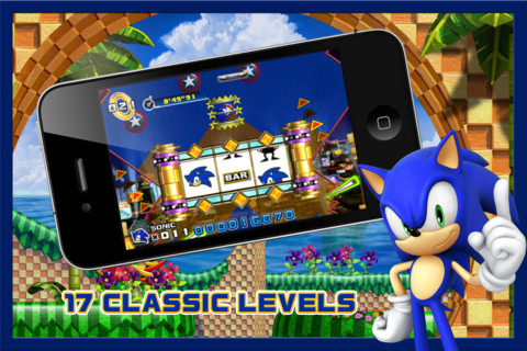 Sonic The Hedgehog 4 (iPhone screenshot 001)