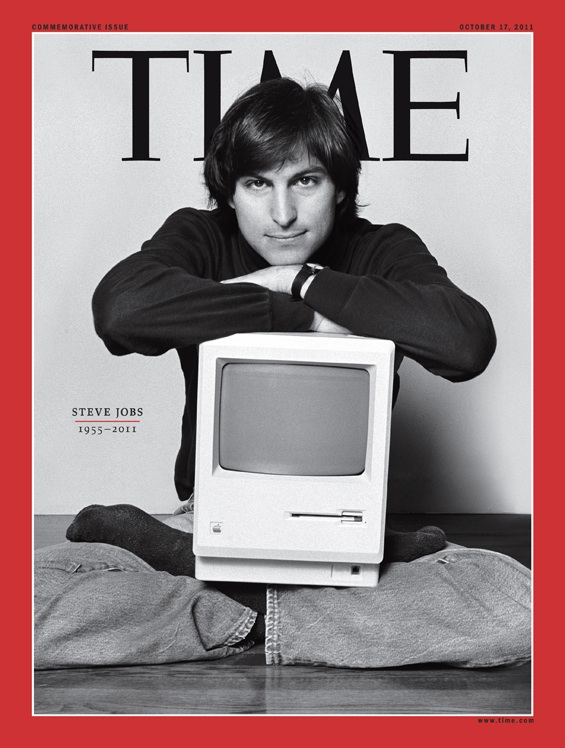 Time magazine (Steve Jobs commemorative issue)