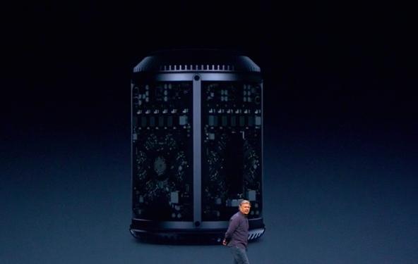 WWDC 2013 Mac Pro inside